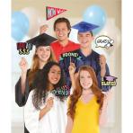 Photo Booth Kit Graduation Paper / Plastic 13 Pieces 35.5 x 21.5 cm