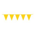 Pennant Banner Sunshine Yellow Plastic 1000 x 32 cm