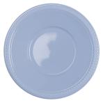10 Bowls Plastic Pastel Blue 355ml