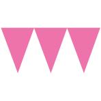 Pennant Banner Pink 450 cm