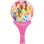 Inflate-A-Fun Princesses Foil Balloon A05 Packaged 15 x 30 cm