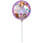 9'' Sofia the First Foil Balloon A20 Bulk 23 cm