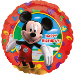 Standard Mickey's Clubhouse Happy Birthday Foil Balloon S60 Packaged