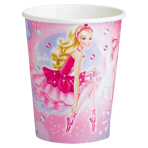 8 Cups Barbie Pink Shoes 266 ml