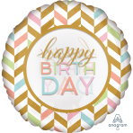 "Jumbo ""Pastel Celebration"" Foil Balloon  , P40, packed, 71 x 71cm"