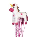 Pull Pinata Unicorn Paper / Plastic 34.9 x 47.6 x 16.5 cm