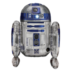 Sitter Star Wars R2-D2 Foil Balloon P50 Packaged