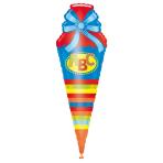 SuperShape ABC School Cornet Foil Balloon P35 Packaged 35 x 111 cm
