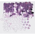 Confetti Sparkle Hearts Pink Foil 14 g