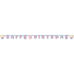 Letterbanner Be a Mermaid 180x15cm