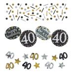 Confetti 40 Sparkling Celebration Gold Foil / Paper 34 g