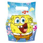 6 Loot Bags SpongeBob
