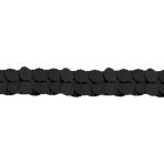 Garland Black Paper 365 cm
