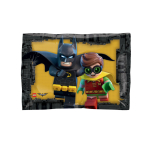 "JuniorShape ""Lego Batman"" Foil Balloon, S60, packed, 96 x 66cm"