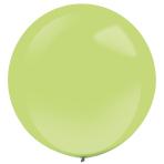 "4 Latex Balloons Decorator Fashion Kiwi Green 61 cm / 24"""
