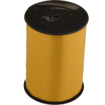 Balloon Ribbon Gold 500 m x 5 mm