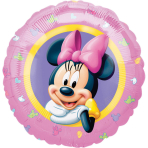 Standard Minnie Character FoilBalloon S60 Packaged