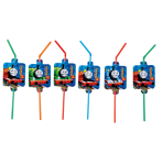 8 Drinking Straws Thomas & Friends