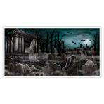 Foil Banner Cemetery 165.1 x 85 cm