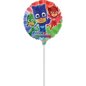 """9'' """"PJ Masks"""" Foil Balloon Round, A20, airfilled, 23cm"""