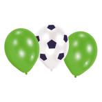 """6 Latex Balloons Kicker Party 22.8 cm/9"""""""
