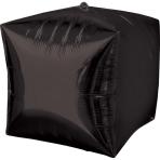 Cubez Black Foil Balloon G20 Bulk 38 x 38 cm