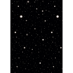 Scene Setter Room Roll Starry Night Plastic 1.2 x 12.1 m