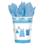 8 Cups Shower With Love - Boy Paper 266 ml