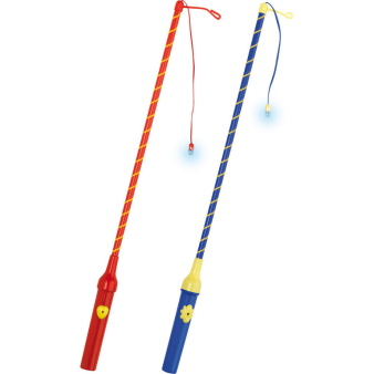 Lantern Stick with LED assorted 30 cm