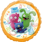 Standard HX Ugly Dolls Foil Balloon S60 Packaged