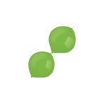 "100 Latex Balloons Decorator Standard E-Link Festive Green 15 cm / 6"""