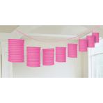Lantern Garland Pink 365 cm