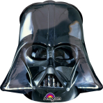 Mini Shape Darth Vader Helmet Foil Balloon A30 Bulk