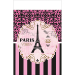 Tablecover A Day In Paris plastic 137 x 259 cm