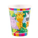 8 Cups Jungle Paper 250 ml