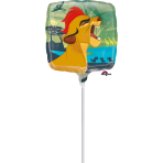 "9"" ""Lion Guard"" Foil Balloon Square, A20, airfilled, 23cm"