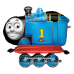 "AirWalkers ""Thomas the Tank"" Foil Balloon, P93, packaged, 91 x 78 cm"