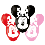 4 Latex Balloons Minnie Giant Ears 55.8cm/22""