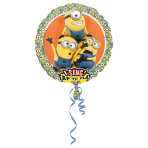 """Sing-A-Tune """"Despicable Me"""" Foil Balloon, P75, packed, 71cm"""