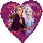 Standard Frozen 2 Foil Balloon heart S60 packaged