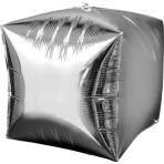 Cubez Silver Foil Balloon G20 Bulk 38 x 38 cm