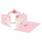 8 Invitations & Envelopes Princess for a Day Paper