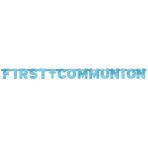 Banner Communion Blessing Blue