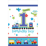 Table Cover All Aboard Birthday
