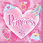 16 Napkins Princess 33 x 33 cm