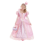 Girls' Costume Corolle Pink Medieval Queen 8 - 10 Years