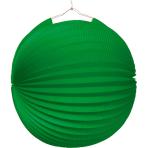 Lantern Green Paper 25 cm