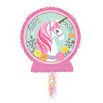 Pull Pinata Magical Unicorn Outline Paper / Plastic 45.7 x 55.2 x 7.6 cm