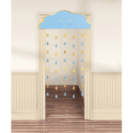 Door Curtain Oh Baby Boy Paper 190.5 x 96.5 cm
