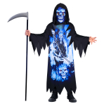 Child Costume Neon Reaper  Recyc 6-8 Years
